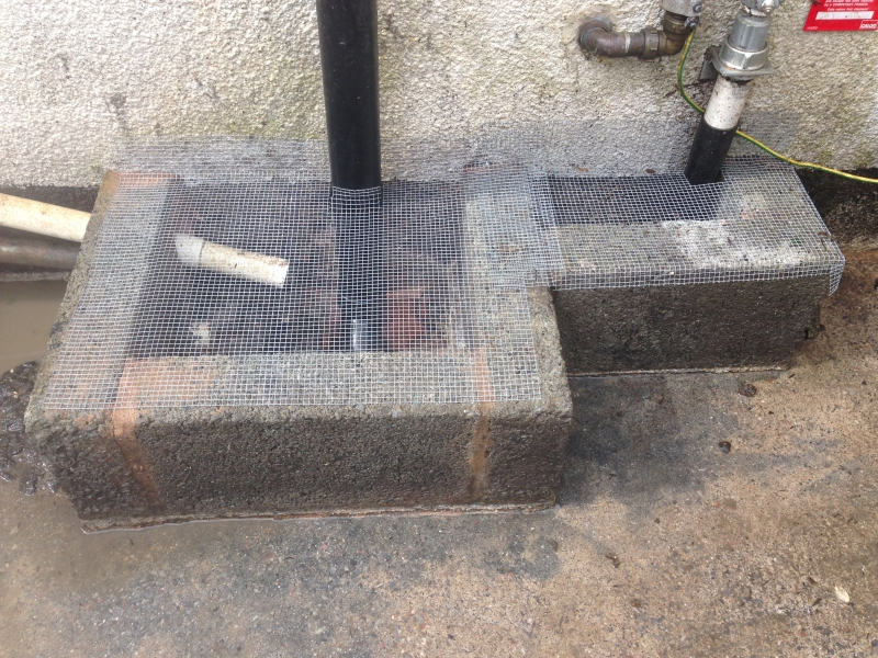 drain proofing